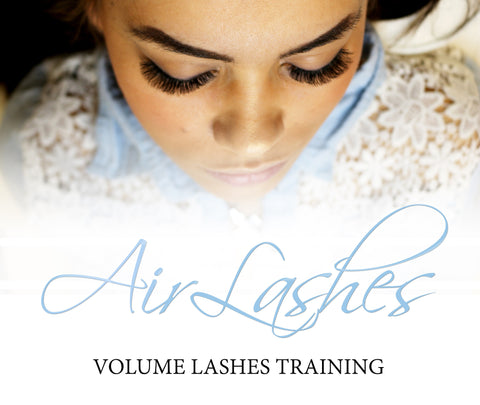 AirLashes Volume Lashes training - 30.06.2016