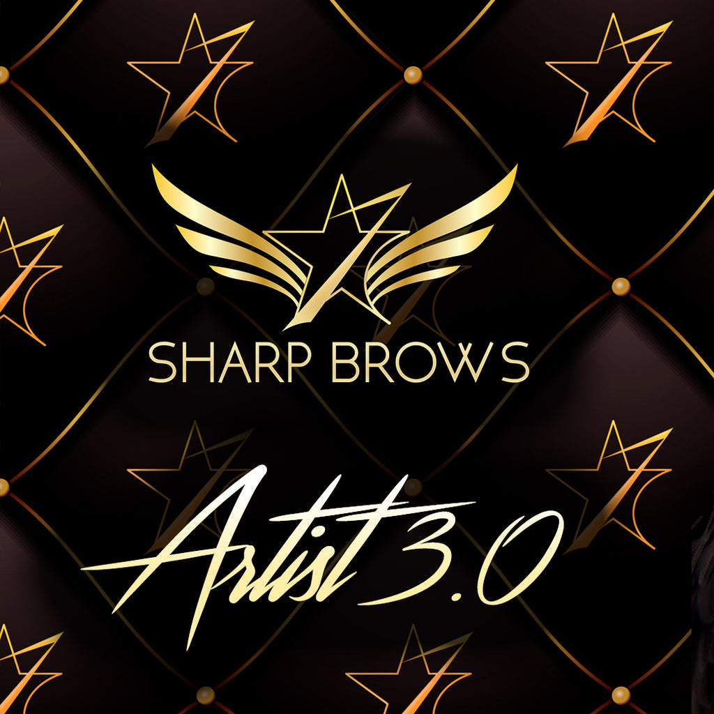 SharpBrows Artist 3.0 training BOOKING fee EB