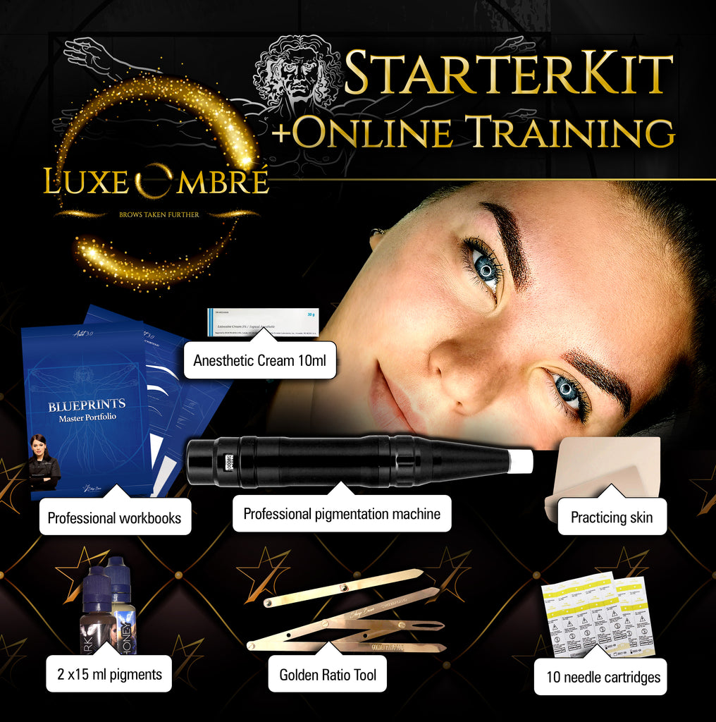 LuxeOmbre Online training + Starter Kit