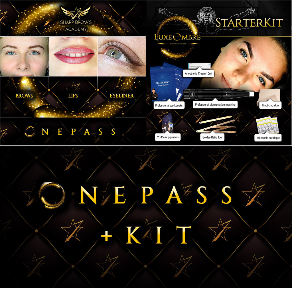 LuxeOmbre One Pass + Starter Kit