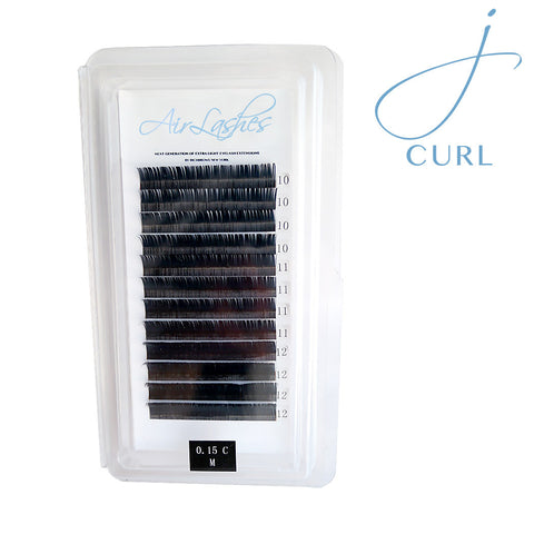 RichBrows Air Lashes - ellipse J curl