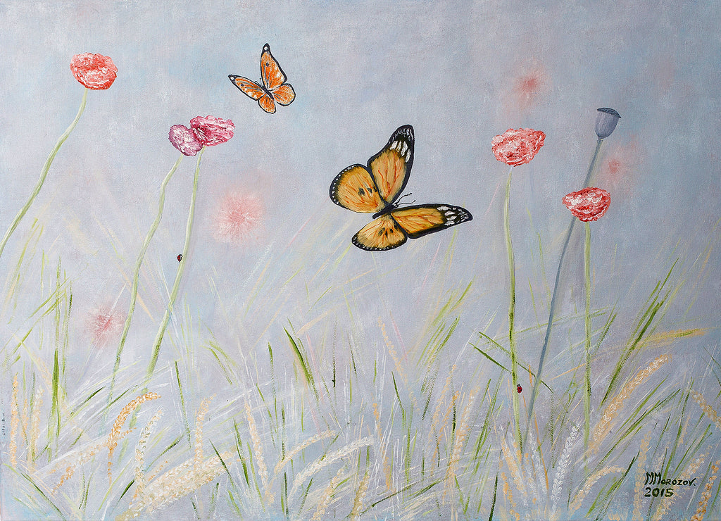 THE DANCE OF BUTTERFLIES