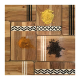 Sustainable Acacia Wood Board, Tile, Small