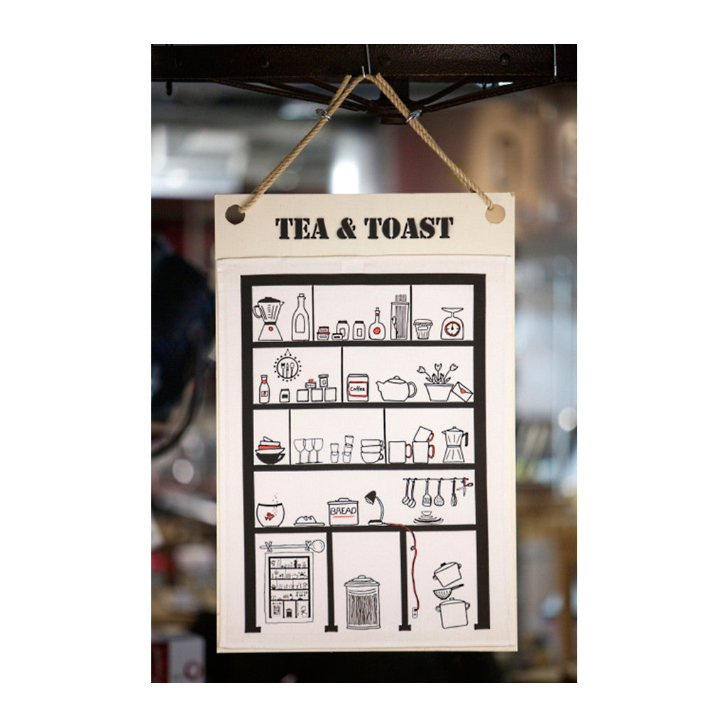 Tea Towel Tea & Toast