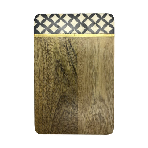 Mango Wood Serving Board Tile Large