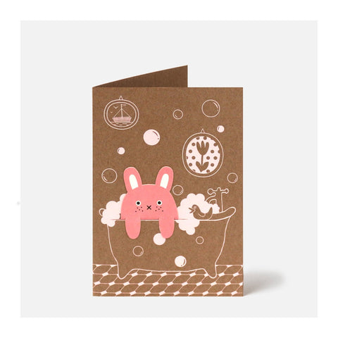 Bubble Bath Card ( Bookmark Card )