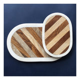Marble, Mango & Acacia Wood Board, Medium