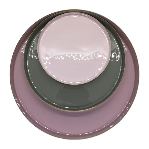 Platters, Silver / Rose / Grey