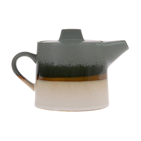 Ceramic Tea pot 70s Style