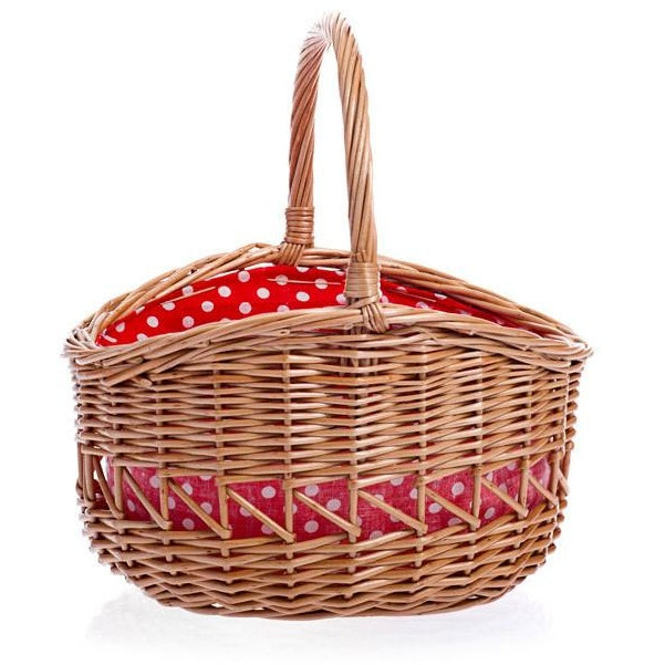 Wicker basket - Amy's Attic
