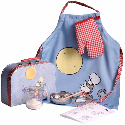 Pancake making kit for a little chef