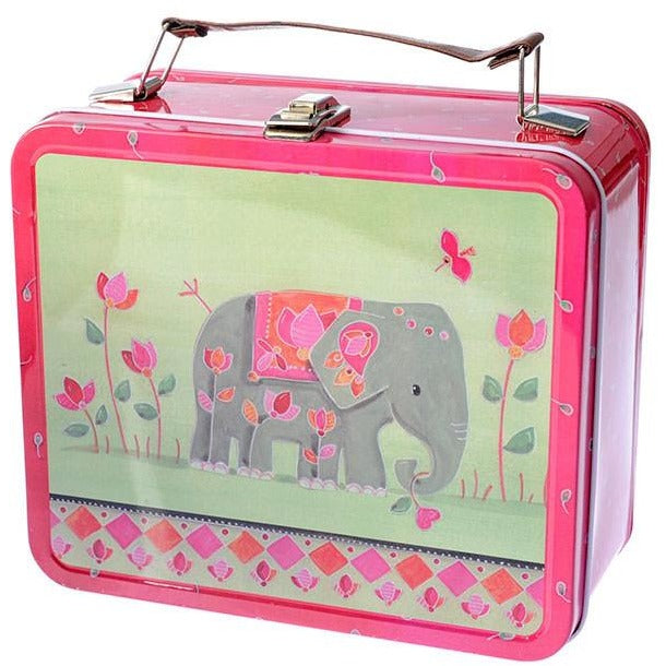 Elephant design lunch box - Amy's Attic