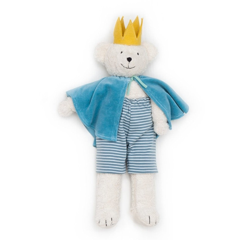 Ben the caped bear Prince soft toy