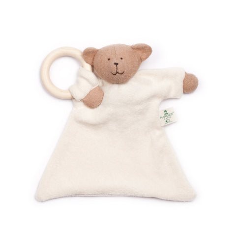 Organic soft Bernie Bear teething toy