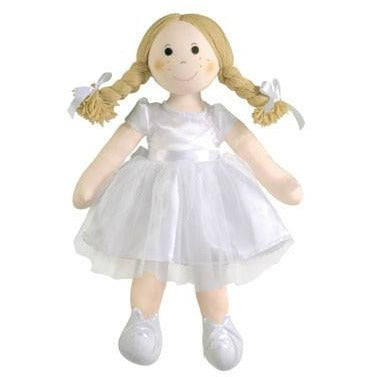 Poppy - fair trade ballerina rag doll