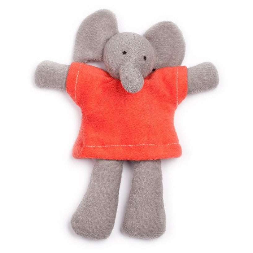 Nelson the elephant organic soft toy
