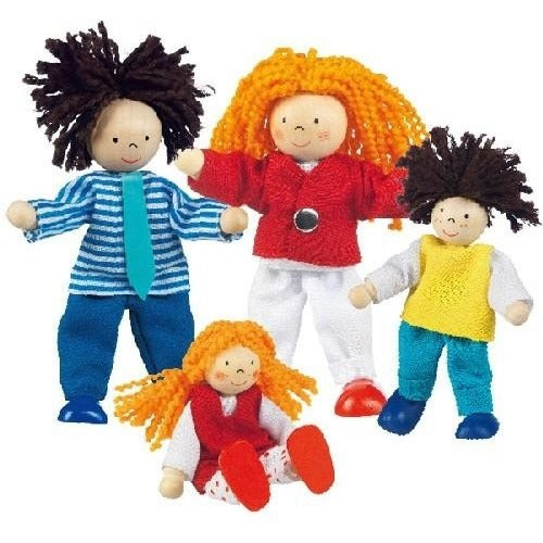 Flexible doll family - Amy's Attic