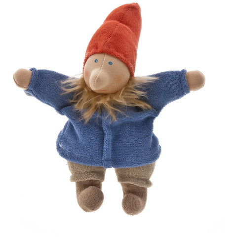 Papa Gnome Waldorf Doll hand made with 100% organic materials