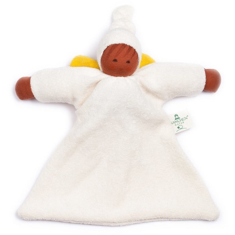 Farida - Guardian angel comforter with top knot