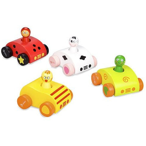 Wooden squeaky car - Amy's Attic - 1