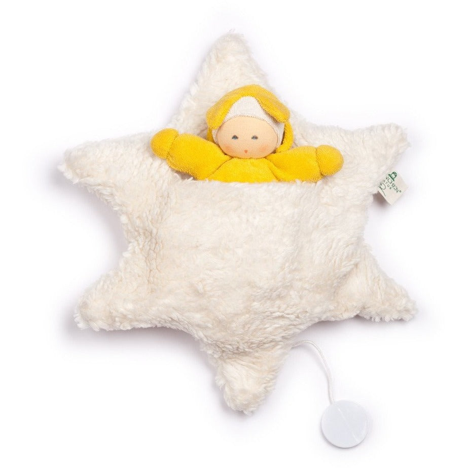Nanchen: Musical star bed with baby - Amy's Attic - 1