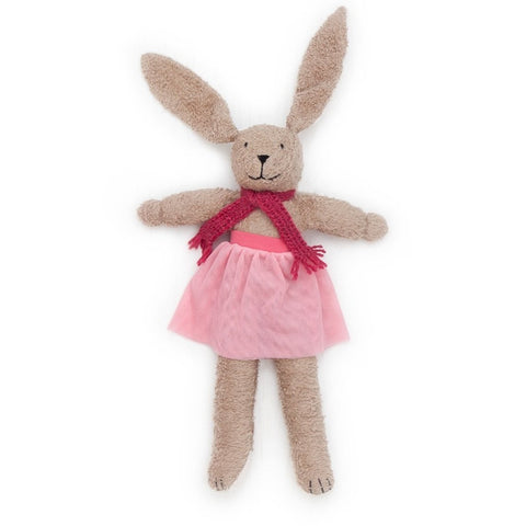 Belle the organic bunny rabbit soft toy