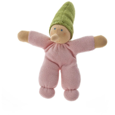 Pink baby gnome