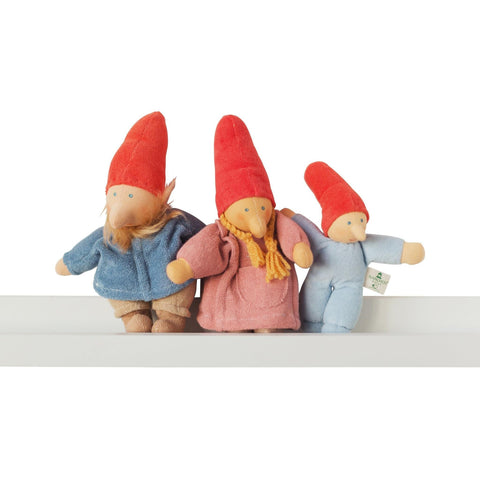 Mama Gnome Waldorf Doll - Organic hand crafted Gnome Family