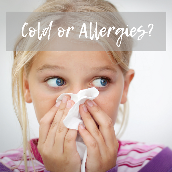 Is it a cold or is it allergies?