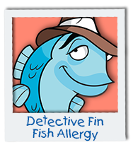 Detective Fin Fish Allergy