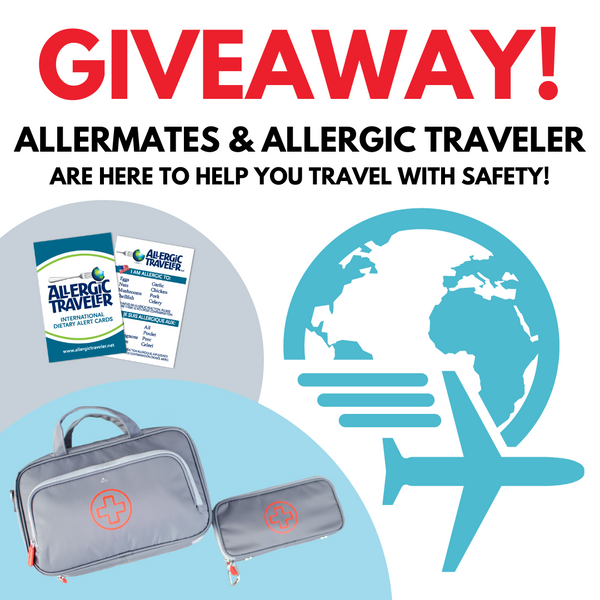 TIME FOR TRAVEL ✈️ (GIVEAWAY WITH ALLERGIC TRAVELER)