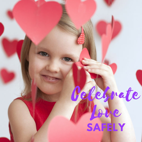Valentines - how to celebrate love while keeping children with food allergies safe