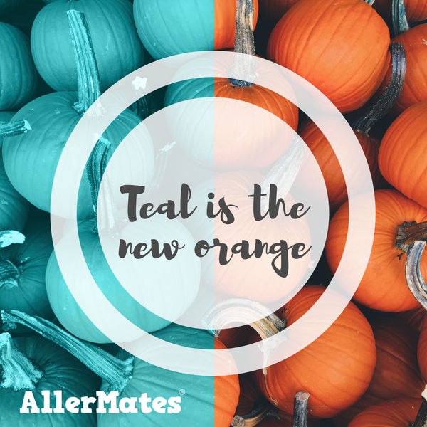 PUMPKINS ARE TURNING TEAL