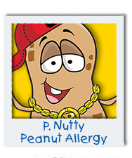 P. Nutty Peanut Allergy