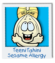 TeeniTahini Sesame Allergy