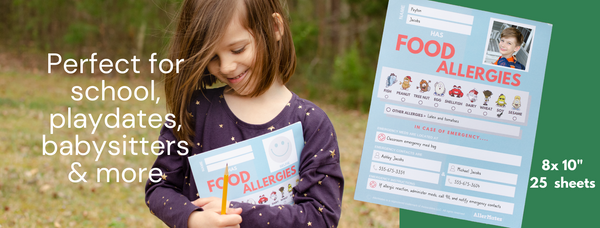 Food allergy classroom forms