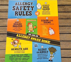 Food Allergy Safety Poster