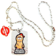Peanut Allergy Medical Alert /Awareness Necklace