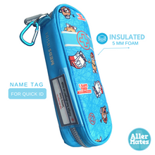 """Tickled Teal"" Insulated Case"