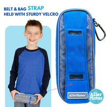 """Busy Boy Blue"" Youth Epi Medicine Case Holder Carrier"