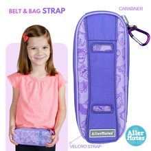 """LOL Lilac"" Youth Allergy Medicine Case Holder Carrier"