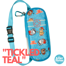 """Tickled Teal"" Youth Allergy Medicine Case Holder Carrier"