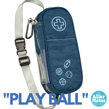 """Play Ball"" Youth Allergy Medicine Case Holder Carrier"