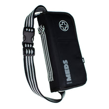 """JET"" Black/Grey Medicine EpiPen Case Carrier: Includes Ice Pack, Belt,Travel Size Bottle ++"