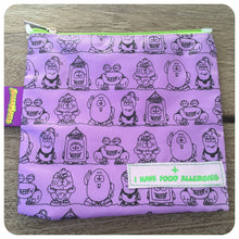 AllerMates Purple I Have Food Allergies Snack or Medicine Bag