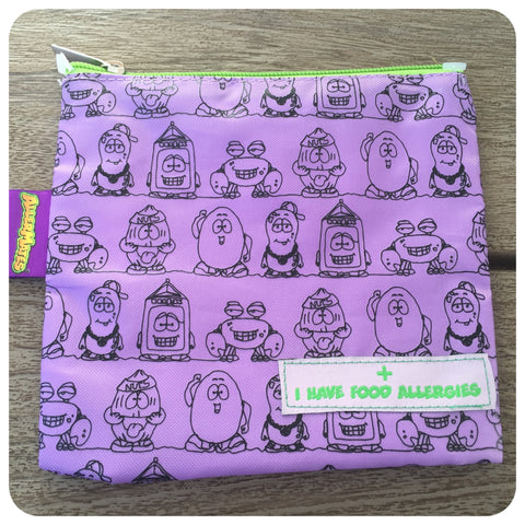 "AllerMates Purple ""I Have Allergies"" Snack Pack- Tall"