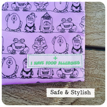 Purple Food Allergy Awareness Snack Pack- LRG