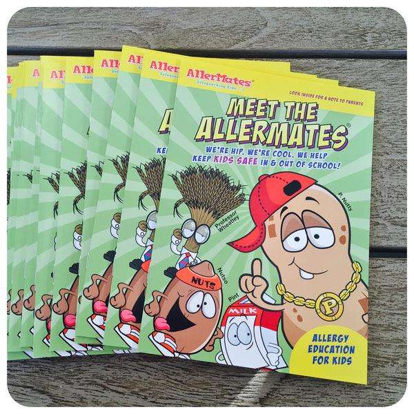 Meet The AllerMates Activitys Booklet 25-Pack