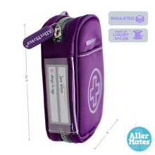 Auvi Q Medicine Case Carrier holder purple