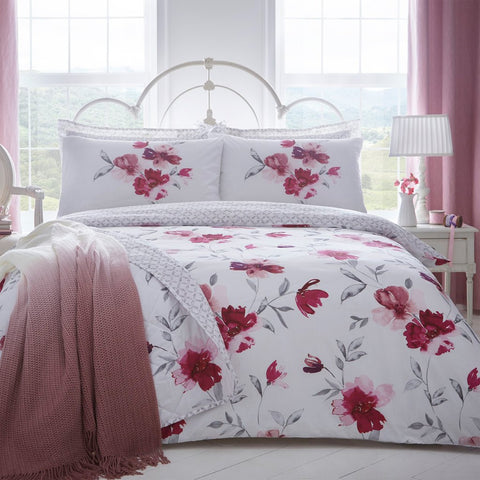 Floral duvet cover set